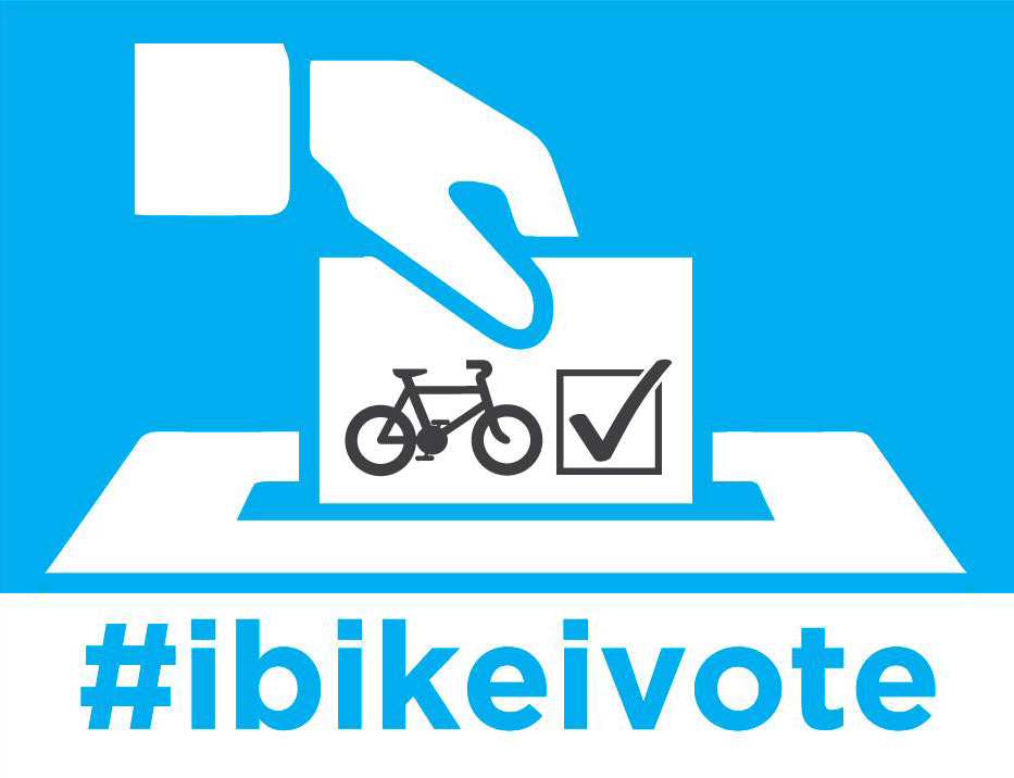 #IbikeIvote local election campaign 2019