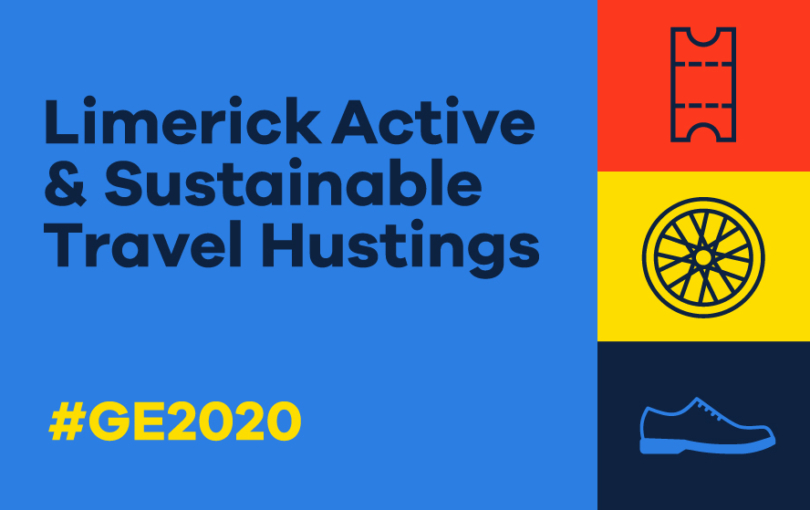 Limerick Active Travel Hustings #GE2020